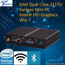 Topton Windows Mini PC Small PC Intel Dual Core Mini PC Pentium 2117U Intel HD Graphics 1080P HTPC TV Box +3-year warranty
