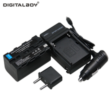 Buy Digtail Boy 4800mAh 7.4V 1pcs Battery + Charger NP-F750 NP F750 NPF750 Rechargeable Camera Battery Sony for $17.38 in AliExpress store
