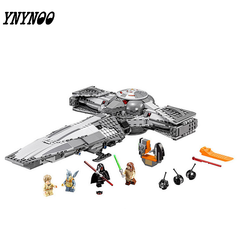 (YNYNOO)05008 StarWars Building Blocks Bricks The Force Awakens Sith Infiltrator StarWars Compatible Toy<br>