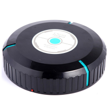 Clean Robot Vacuum Cleaner Home Sweeping Robots for Vacuuming Dust Cleaner  Black Round Automatic Sweeper Design 230*50mm