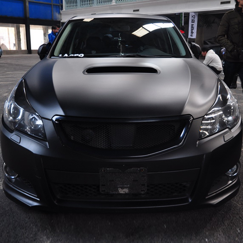 for 2010-2014 Subaru Legacy Carbon Fiber Headlight Eyebrows Eyelids<br>