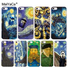 Buy MaiYaCa Van gogh painting Luxury High-end phone Accessories Case Apple iPhone 8 7 6 6S Plus X 5 5S SE 5C 4 4S Mobile Cases for $1.16 in AliExpress store