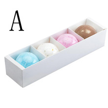 2/4PCS moisture Rose Lavender Cornflower Green tea Bath Bombs Ball Natural Sea Salt Lavender Bubble Essential Body Scrub(China)