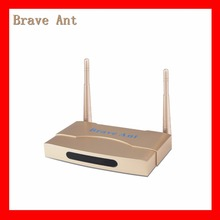 Hot selling 2017 Gold Brave ant professional Arabic IPTV box no shipping cost no annual cost