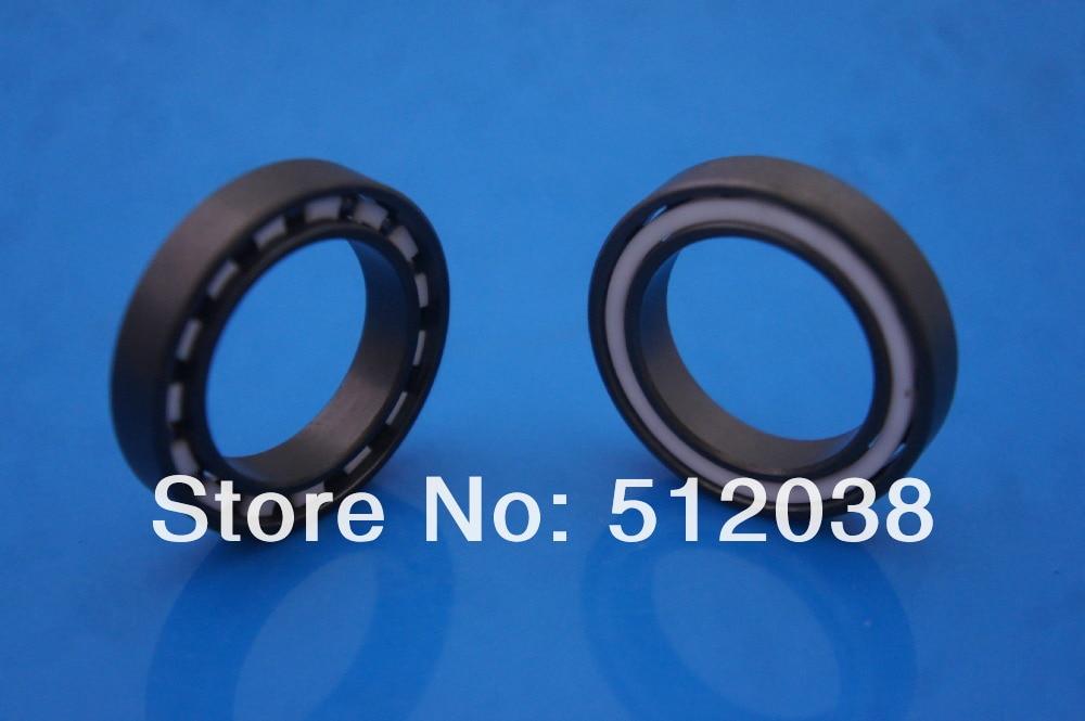 Si3N4 (Silicon Nitride)  Full Ceramic 6805 Ball Bearings 25 X 37 X 7 mm Bearing<br>