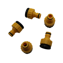 2pcs Standard Faucet Quick Connector Washing Machine Hose Connector, And A Garden Lawn Sprinkler Irrigation System Pipe Fittings