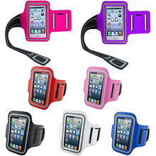 2015 New Waterproof Sports Running Case Workout Holder Pounch For iphone 5 5G Cell Phone Arm Bag Band GYM Fashion 1N24 57GG(China)