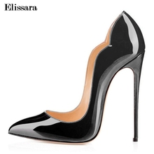 Buy Women's Sexy Stilettos High Heels Pumps Shoes Woman Fashion High-Heeled Party Pointed Female Shoes Plus size 33-43 Elissara for $39.79 in AliExpress store