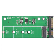 M2 M.2 NGFF SSD TO Sata Adapter Expansion Disk Driver Card Adapter SATA to NGFF High-capacity for Intel Ultrabook