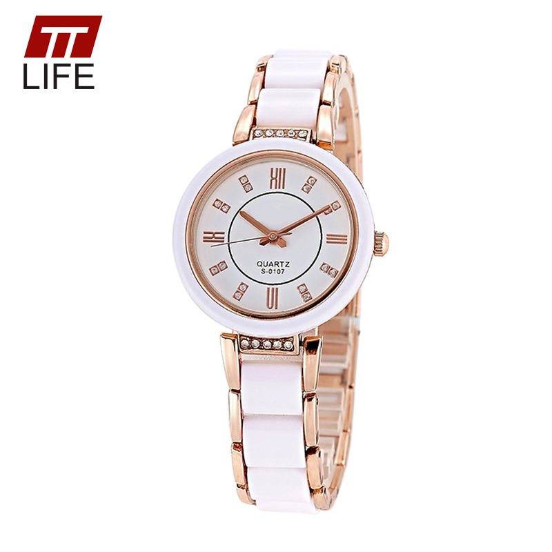 TTLIFE Brand Luxury Quartz Watches For Ladies With Diamond Females Wristwatches Crystal Sapphire Ceramic Watch Water Resistant<br><br>Aliexpress