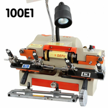1PC 100E1 key cutting machine 180w 220v/50hz with chuck key duplicating machine for making keys locksmith tools
