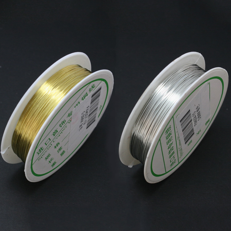 1 Roll Copper Wire Jewelry Making Wire Roll for Crafts Beading String Supplies