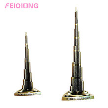 Burj Khalifa Dubai Worlds Tallest Building Architecture Model Decoration 13/18cm