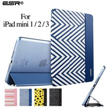 Case for iPad mini 1/2/3,ESR (Ultra Slim Version) Trifold Flip Case Smart Cover Auto Wake Up/Sleep Function] for iPad mini 1/2/3
