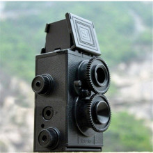 DIY Twin Lens Reflex Lomo Film Camera Kit Classic Play Hobby Photo appareil fotograficas filmadora photographique TLR 35mm