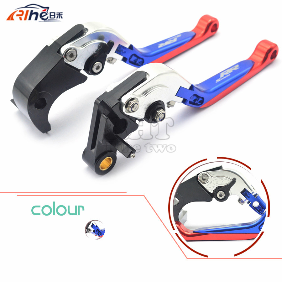 New Motorcycle aluminum Shorty Adjustable Brake Clutch Levers motorcycle brake clutch levers For BMW S1000RR S1000 RR 2010-2014<br>