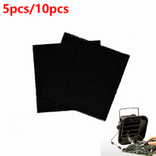 5/10pcs High Quality Activated Carbon Filter Sponge For 493 Solder Smoke Absorber ESD Fume Extractor HY1272
