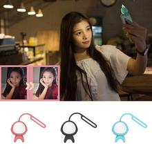 Hot Alien Shape Wireless Bluetooth Fill Flash Selfie LED Light Lamp Self-timer Photography Flash light for iphone Samsung