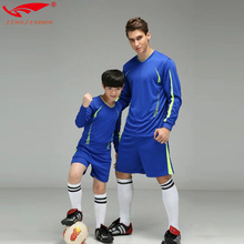 soccer jerseys 2016 2017 uniforme de futebol kids Child long sleeve soccer uniforms maillot foot survetement football jerseys