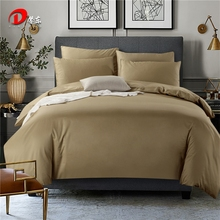 Dark Brown Satin Bedding Set Luxury Egyptian Cotton Bed Set King Queen Size High Quality Bed Linen Noble Duvet Cover Set Z62(China)