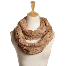 KLV 2017 Womens Blend Circle Collar Scarf Shawl Collar Wrap Stole Scarve Man-made fiber faux fur scarf fur femme vrouwen winter