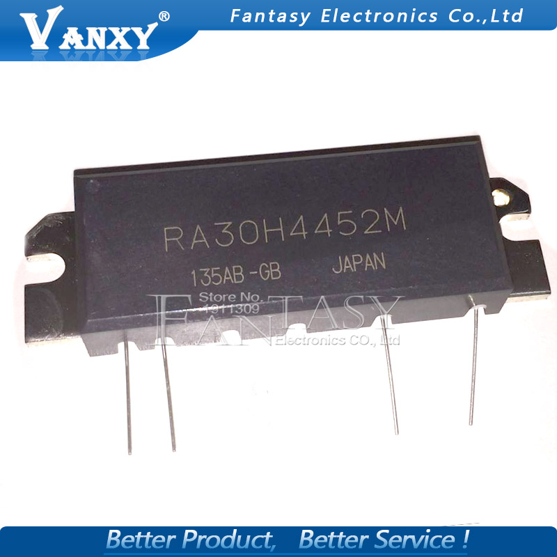 100% New RA30H4452M RA30H4452M1 Power amplifier module  440-520MHz 30W 12.5V(China)