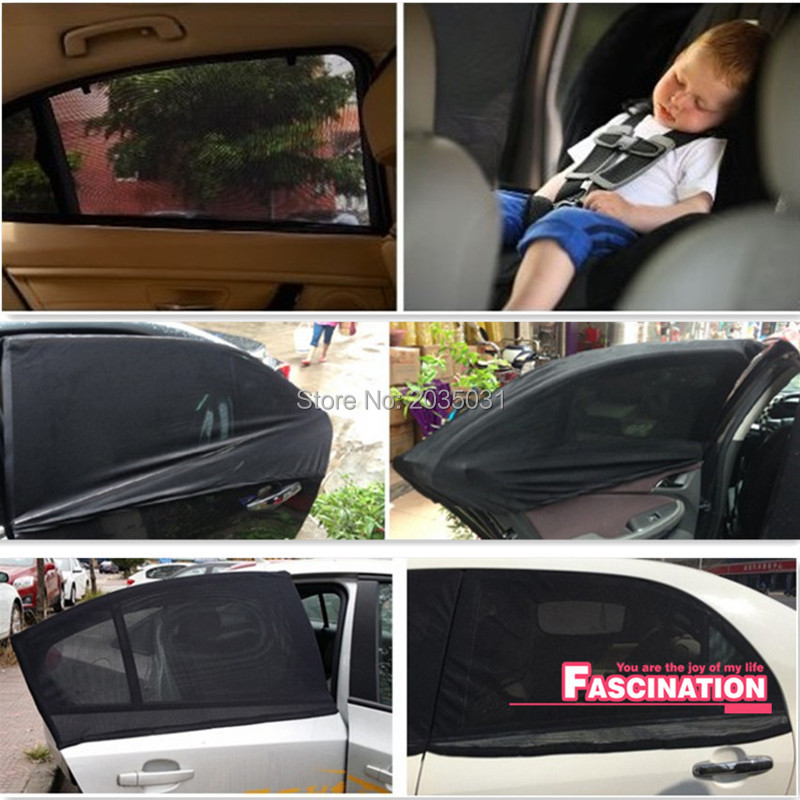 Car Rear Window UV Sun Shade Blind Kids Baby Sunshade For Subaru Impreza WRX
