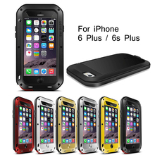 LOVE MEI for iPhone 6 Plus / 6 s Plus Cover Dropproof Shockproof Dustproof Case Mobilephone Bag for iPhone 6 Plus / 6s Plus(China)