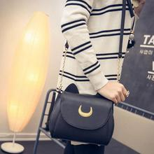 Fashion Style Bags Famous Brand Cute Design Women Messenger Bag Sailor Moon Bag Handbags Cat Shoulder Bags 2016(China)