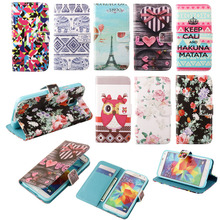 Buy Leather Stand Wallet Cartoon Flip Case Cover Samsung Galaxy Trend Plus GT S7580 / Trend Duos GT S7562 s7560 S Duos S7582 for $3.50 in AliExpress store