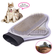 Dog Bath Brush Comb Pet Grooming Palm Shape Hair Rubber Glove Massage Mitt Bath Product New Pet Accessories 10