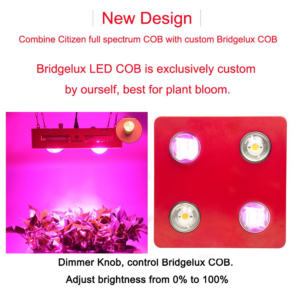 Citizen Bridgelux COB led grow ligth -07