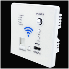 110~250V New White USB Socket  Wireless WIFI USB Charging Socket,Wall Embedded Wireless AP Router,3G WiFi Repeater Free Shipping