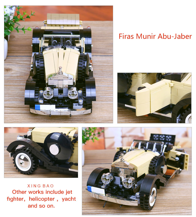 XINGBAO XB-03007 Noble Rolls Royce Silver Ghost Building Block 33