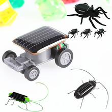 Kids Solar Toys Energy Crazy Grasshopper/cockroach/car Toy Power Robot Bug Grasshopper educational gadget Toy for children