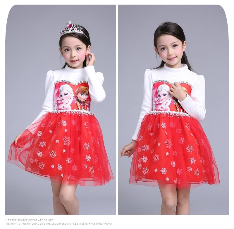 Customs New Arrived GirlS Princess Dress Elsa Anna Kids Wedding Party Dresses For Baby Children Dresses <br>