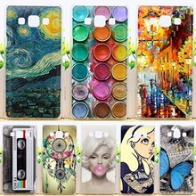 Fashion Cool Design Phone Case For Samsung Galaxy A5 2015 A500 A5000 A500F Cover Soft Silicone TPU Cases For Galaxy A5 2015 A500