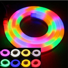 High Quality Flexible LED Neon Tape Light LED Strip Light RGB/Warm/Cool/Red/Green/Blue/Yellow AC110V/220V Waterproof IP65 10M