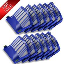 12Pcs HEPA brush Filter Replacement for iRobot Roomba 500 600 Series 536 550 551 620 650 Vacuum Cleaner parts accessories(China)