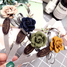 New Flowers bow knitting fabric hairbands Handmade Girls Hair bands hoop Fashion Korean hair accessories for women Headbands Bow