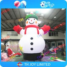 free air shipping to door,6m Christmas x-mas ornament decoration outdoor large inflatable snowman cartoon character