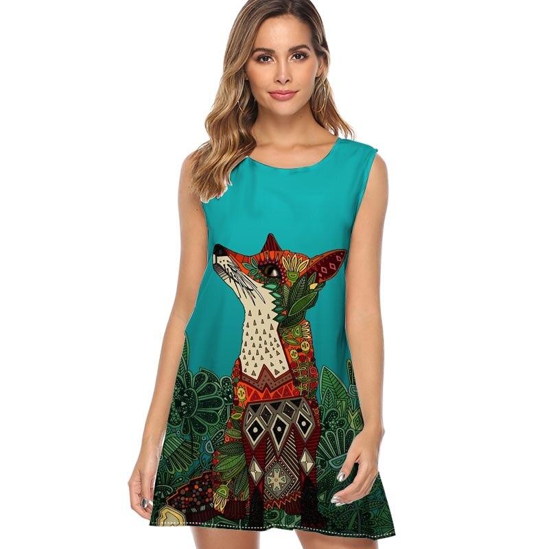 Women Summer Linen Plus Size Boho Maxi Beach Party Club Mini Knee Dress