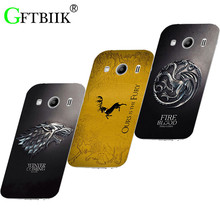 Cute Cartoon Case For Samsung Galaxy Ace 4 Ace4 G357FZ Ace Style LTE G357 Hard Plastic Case Football Cover Game of Thrones 7
