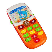 Infant Baby Born Toys Electronic Mobile Phone with Sound Smart Phone Toy Children Kids Gifts Cellphone Early Education Random(China)