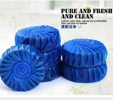 blue bubble toilet cleanser jiece agent antiperspirant agents toilet bowl cleaner 1pc(China)