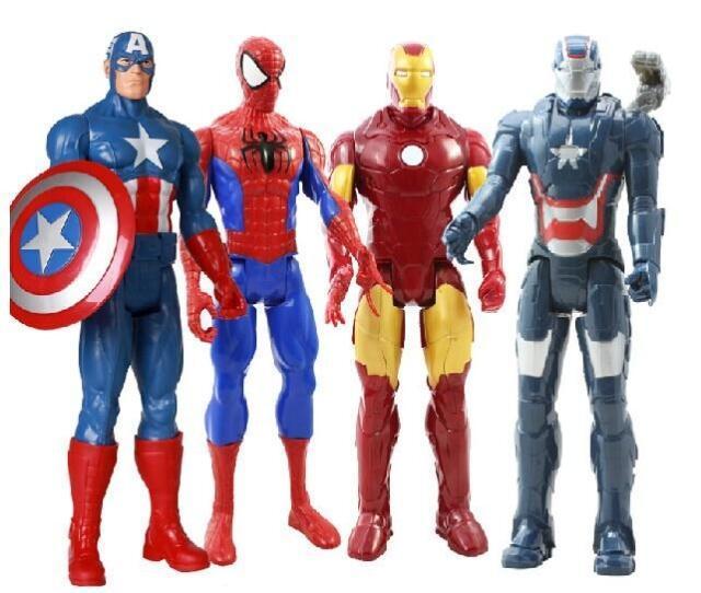 Spider-Man Iron Man hand model Captain America Children Toy baby birthday gift Toy<br><br>Aliexpress