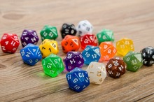 Dungeons and dragons, world of Warcraft game table 20 sided dice,20 face dice,dnd game D20 dice