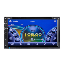 "High-definition Digital Touch Screen 7"" 2DIN Double DIN Android HD Car Stereo DVD AM/FM Radio Player GPS ME3L"