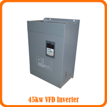 45KW/3 Phase 380V/91A Frequency Inverter--Free Shipping-Vector control 45KW Frequency Drive/ Vfd 45KW/ 3 phase inverter(China)