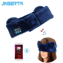 JINSERTA Wireless Bluetooth Sleep Headphone Headband High Quality Stereo Earphone for Eye Mask+Music Headset+Answering Phone